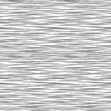Black and white geometric pattern. Seamless abstract background. Vector stripe, lines. Horizontal speed line pattern. Black and white geometric pattern Stock Photography