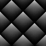 Black and white geometric seamless pattern, abstract background.  Stock Image
