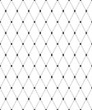 Black and white geometric seamless pattern, abstract background. Black and white geometric seamless pattern with line and diamond. Abstract background. Vector Stock Photos