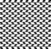 Black and white geometric seamless pattern abstract background Royalty Free Stock Photos