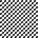 Black and white geometric seamless pattern abstract background Royalty Free Stock Images