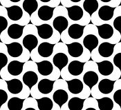 Black and white geometric seamless pattern, abstract background. Black and white geometric seamless pattern. Abstract background. Vector seamless pattern Stock Photo