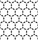 Black and white geometric seamless pattern. Abstract background. Vector seamless pattern Stock Photo