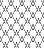 Black and white geometric seamless pattern, abstract background. Black and white geometric seamless pattern, abstract background, vector, illustration Royalty Free Stock Images