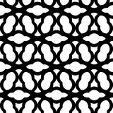 Black and white geometric seamless pattern chinese style, abstra Royalty Free Stock Photography