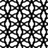 Black and white geometric seamless pattern chinese style, abstra Stock Photo