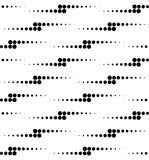 Black and white geometric seamless pattern with circle, abstract. Background, vector, illustration Royalty Free Stock Image