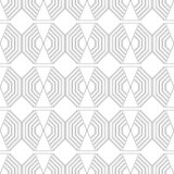 Black and white geometric seamless pattern for coloring book, page. Abstract background for cover, wallpaper, decor. Black and white geometric seamless pattern Stock Photo