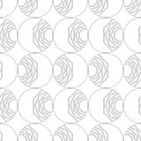 Black and white geometric seamless pattern for coloring book, page. Abstract background for cover, wallpaper, decor. Black and white geometric seamless pattern Royalty Free Stock Photography
