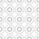 Black and white geometric seamless pattern for coloring book, page. Abstract background for cover, wallpaper, decor. Black and white geometric seamless pattern Royalty Free Stock Photos