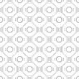 Black and white geometric seamless pattern for coloring book, page. Abstract background for cover, wallpaper, decor. Black and white geometric seamless pattern Royalty Free Stock Photo