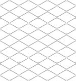 Black and white geometric seamless pattern with dashed line, abs Stock Images
