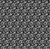 Black and white geometric seamless pattern with dot, abstract ba. Ckground Royalty Free Stock Images