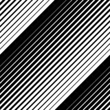 Black and white geometric seamless pattern with line, abstract b. Ackground, , illustration Stock Images