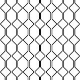 Black and white geometric seamless pattern with line, abstract b. Black and white geometric seamless pattern with line. Abstract background. Vector seamless Royalty Free Stock Images