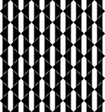 Black and white geometric seamless pattern with triangle, abstra Royalty Free Stock Photo