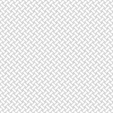 Black and white geometric seamless pattern with weave style. Royalty Free Stock Photos