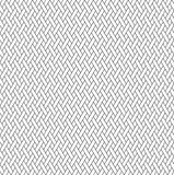 Black and white geometric seamless pattern with weave style. Royalty Free Stock Image