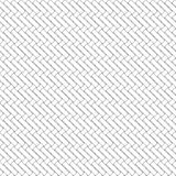 Black and white geometric seamless pattern with weave style. Royalty Free Stock Photo