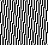 Black and white geometric stripe seamless pattern abstract backg Royalty Free Stock Photos
