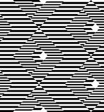 Black and white geometric stripe seamless pattern abstract backg Royalty Free Stock Images