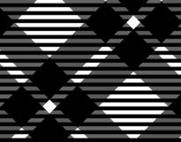 Black and white gingham pattern background for plaid,tablecloths for textile articles,vector illustration.EPS-10. Black and white gingham pattern background for vector illustration
