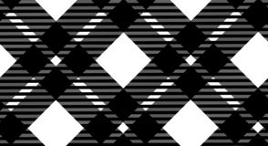 Black and white gingham pattern background for plaid,tablecloths for textile articles,vector illustration.EPS-10. Black and white gingham pattern background for stock illustration