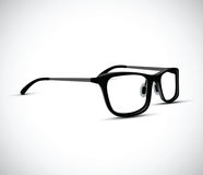 Black and white glasses frames Royalty Free Stock Image