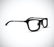 Black and white glasses frames. A black and white glasses frames Royalty Free Stock Image