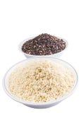 Black And White Glutinous Rice II Stock Photo