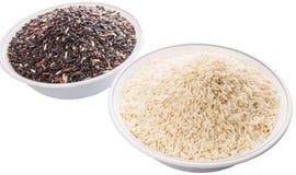 Black And White Glutinous Rice VI Royalty Free Stock Photos