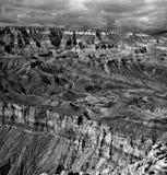 Black and white Grand Canyon Arizona Royalty Free Stock Image