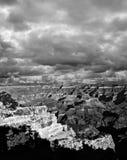 Black and white Grand Canyon Arizona Royalty Free Stock Images