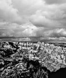 Black and white Grand Canyon Arizona Stock Photo