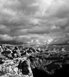 Black and white Grand Canyon Arizona Stock Photos