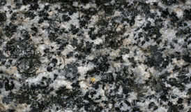 Black and white granite macro Stock Photos