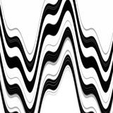 Black white gray fluid waves geometries. Forms and fluid lines background Royalty Free Stock Photography