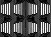 Black and white. Gray. Patterns. Stock Photography