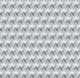 Black, White and Grey seamless geometric background. Royalty Free Stock Photo