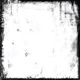 Black and White Grunge Frame. For design Royalty Free Stock Image