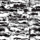 Black and white grunge stained and striped seamless pattern Royalty Free Stock Photo