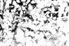 Black and white grunge urban texture with copy space. Abstract s. Urface dust and rough dirty wall background or wallpaper with empty template for all design Royalty Free Stock Images