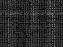 Black and white hacker maze pattern backdrop Royalty Free Stock Photography