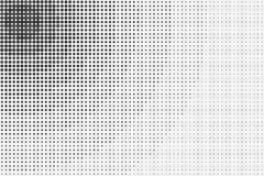 Black and White Halftone Abstract Background Royalty Free Stock Photos