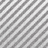 Black and white halftone background Stock Images