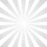 Black and white halftone background Royalty Free Stock Images