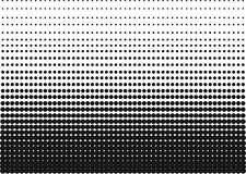 Black and White Halftone Gradient as a Background or Motif to be used Pop Art or Retro Comics. Editable Clip Art. Stock Photo