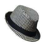 Black and White Hat Royalty Free Stock Images