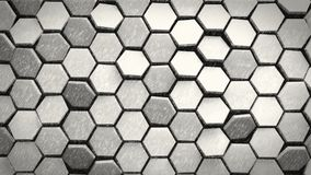 Black & white hexagons pencil drawing background 3d render. Nice Black & white hexagons pencil drawing background 3d render Vector Illustration