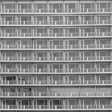Black and white - High building backgrund Royalty Free Stock Image